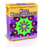 Kaleidoscope Coloring Book - MyShoppingSpot