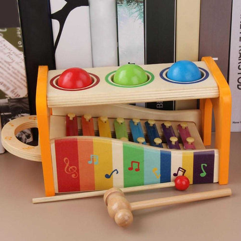 Multifunctional Xylophone And Tap Bench Learning Toy - MyShoppingSpot