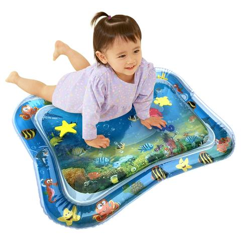 Tummy Time Water Mat   **ADD the Baby Wrist Rattle bundle shown below** And get FREE SHIPPING!!!!