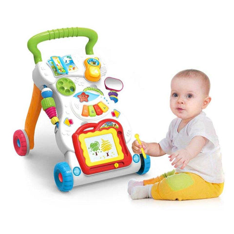 Image of Baby Sit-to-Stand Walker - MyShoppingSpot
