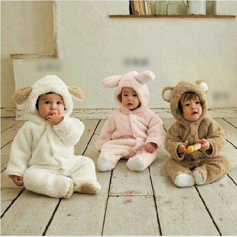 Very Cute Fleece Jumpsuits - FREE Shipping - MyShoppingSpot