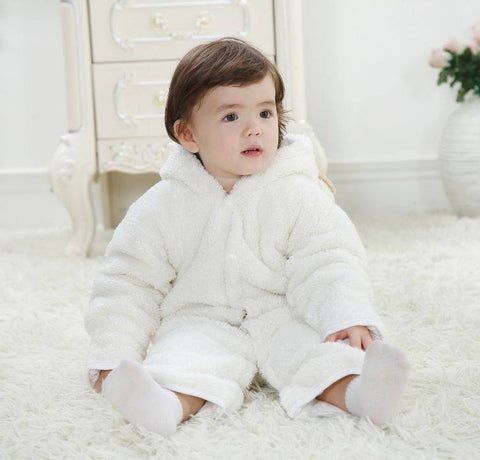 Baby Jumpsuit - Very Cute Fleece Jumpsuits - FREE Shipping