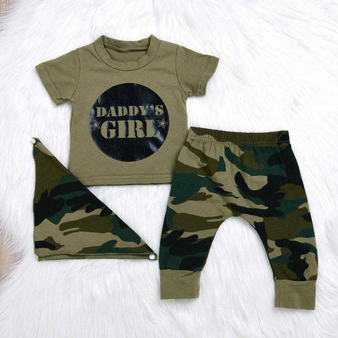 Baby / Toddler Camo T-shirt & Pants Outfits 0-24M - MyShoppingSpot