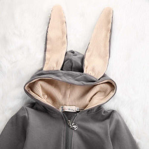 Bunny Hooded Romper - MyShoppingSpot