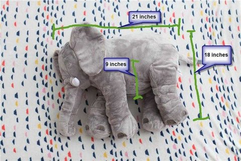 "Image of Big Soft Baby Elephant - ""Loved it! Gave it to my daughter at her baby shower......it was a great hit!!!"" - Glenda - Customer - MyShoppingSpot"