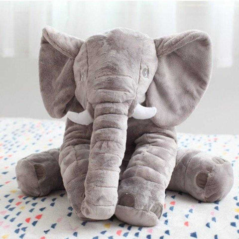"""Loved it! Gave it to my daughter at her baby shower......it was a great hit!!!"" - Glenda - Big Soft Baby Elephant Customer - MyShoppingSpot"