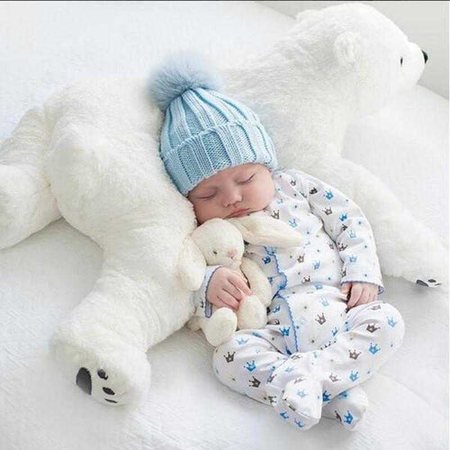 Big Soft  Plush Polar Bear - MyShoppingSpot