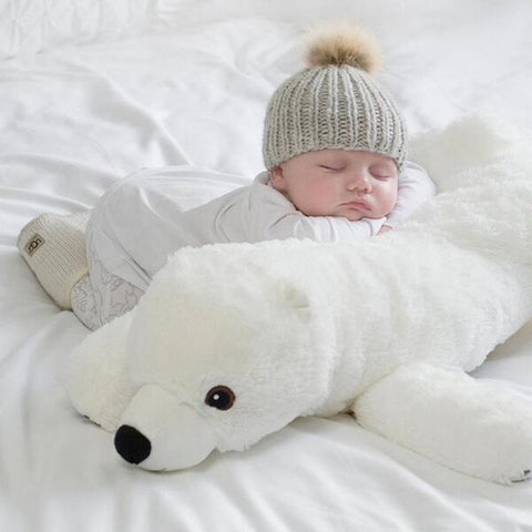 Image of Big Soft Polar Bear - MyShoppingSpot