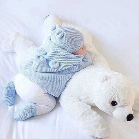 Pillow - Big Soft Polar Bear - Global Shipping
