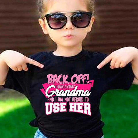 Image of Back off  Crazy Grandma Shirt - MyShoppingSpot