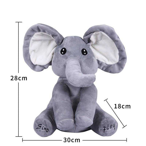 Image of Sing And Play Elephant - MyShoppingSpot