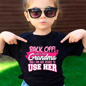 Back Off - Crazy Grandma - MyShoppingSpot