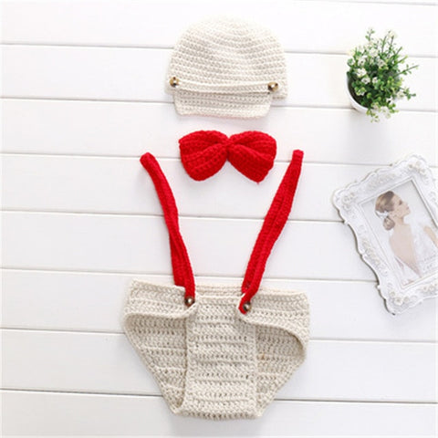 Newborn Photography Props Crochet Knit Outfits - MyShoppingSpot
