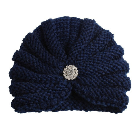 Knitted Winter Baby Beanie