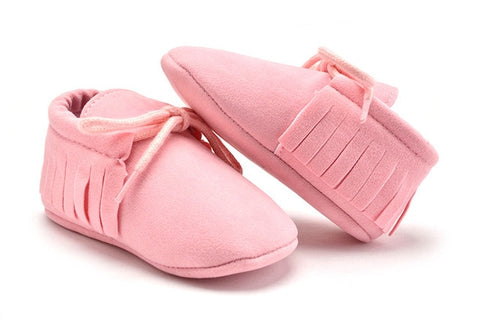 Image of Newborn Infant  Moccasins - MyShoppingSpot