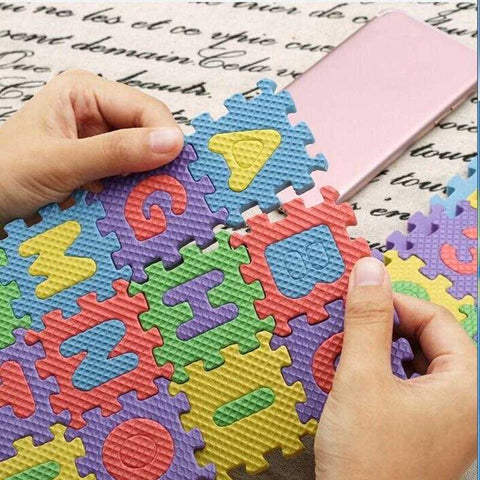 Image of Foam Alphabet Puzzle - MyShoppingSpot
