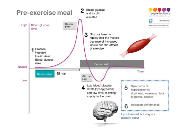 Infographic - 41 Pre-exercise meal