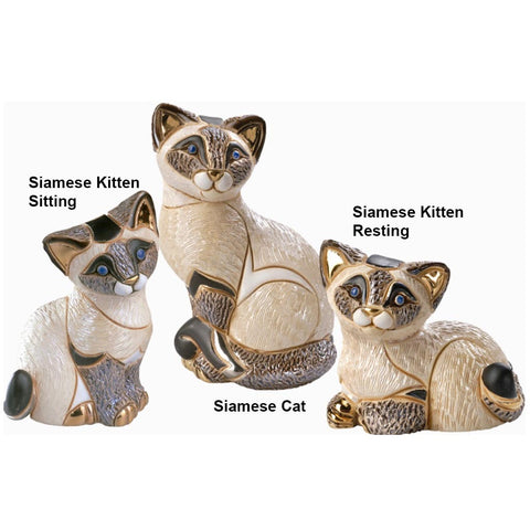 De Rosa Siamese Cats and Kittens