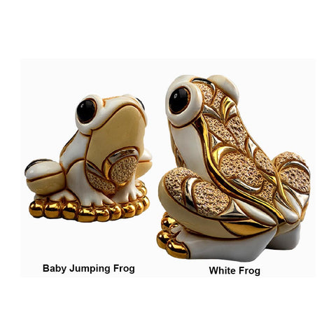 White Frogs
