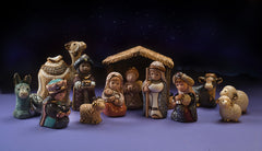 Christmas Nativity Scene - Full set