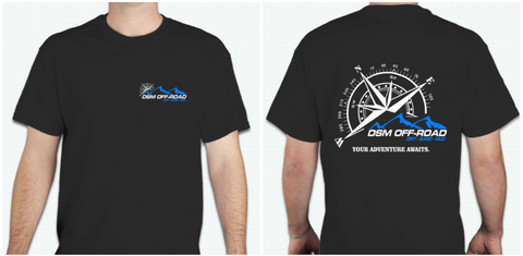 DSM Compass Logo Double Sided T-Shirt (By Gildan)