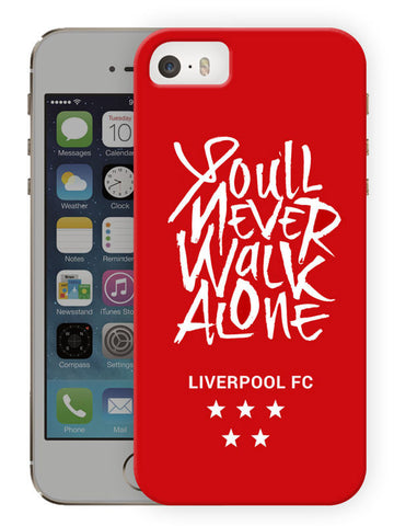 You'Ll Never Walk Alone - Liverpool Protective Hard Case For Apple Iphone SE (2016) - Printed Phone Cover