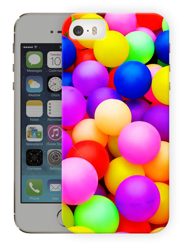 Balloons And Colors Of Life Printed Designer Mobile Back Cover For Apple Iphone Se