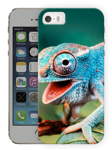 Chameleon Printed Designer Mobile Back Cover For Apple Iphone Se