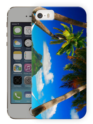 Beach View Printed Designer Mobile Back Cover For Apple Iphone Se
