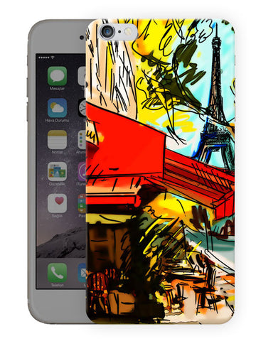 Hand Paint City Printed Designer Mobile Back Cover For Apple Iphone 6S Plus