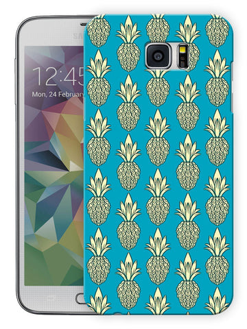 Pineapple Fruit Love Printed Designer Mobile Back Cover For Samsung Galaxy Note 5