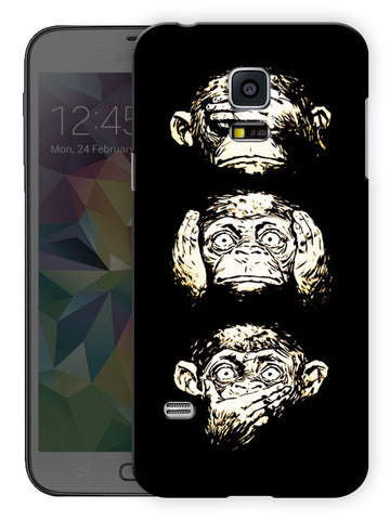 13 Monkeys Printed Designer Mobile Back Cover For Samsung Galaxy S5 Mini
