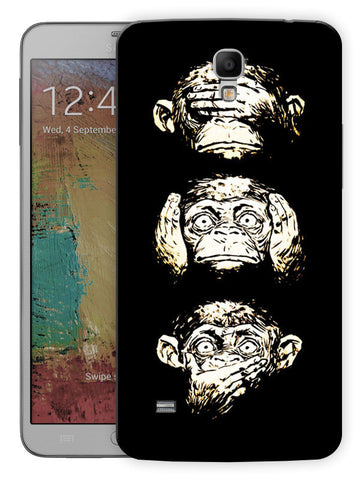 18 Monkeys Printed Designer Mobile Back Cover For Samsung Galaxy Mega 6.3