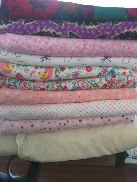Cozy Flannels for Lavender Chamomile Eye Pillows