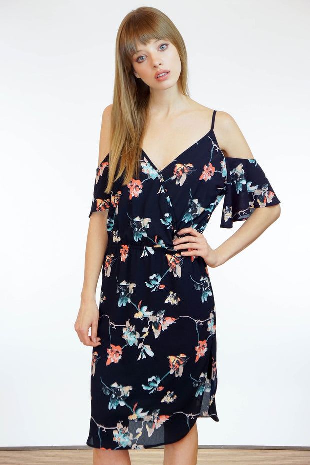 Lulu Cold Shoulder Dress
