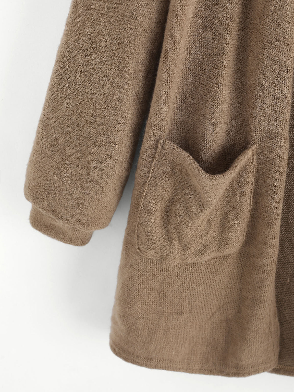 Soft Brown Cardigan