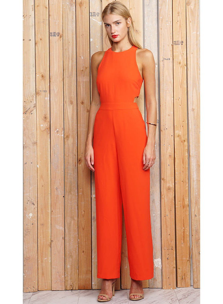 Leslie Cut Out Jumpsuit