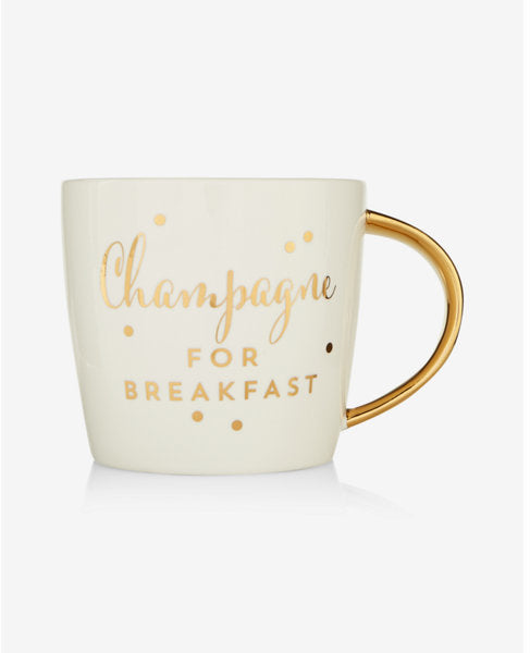 Champagne for Breakfast Ceramic Mug