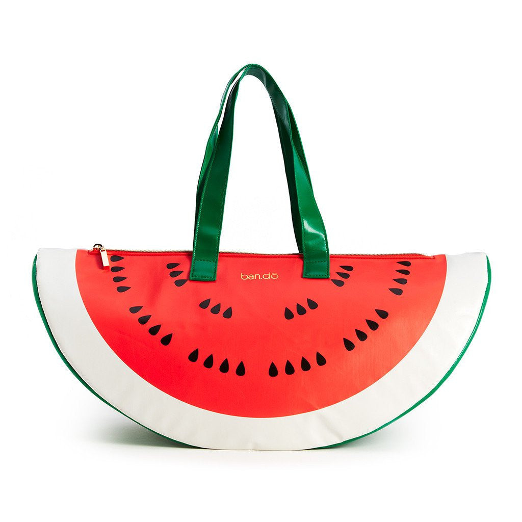 Super chill watermelon cooler bag