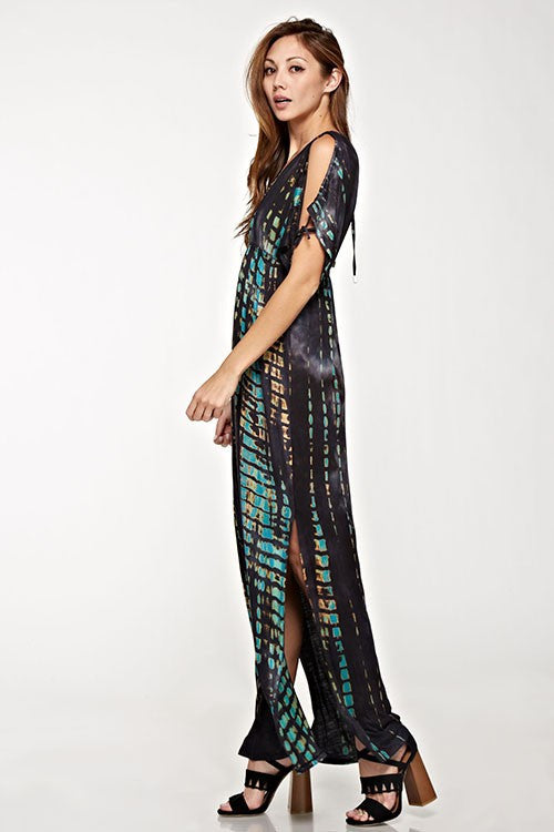 Madelyn Tie Dye Maxi Dress