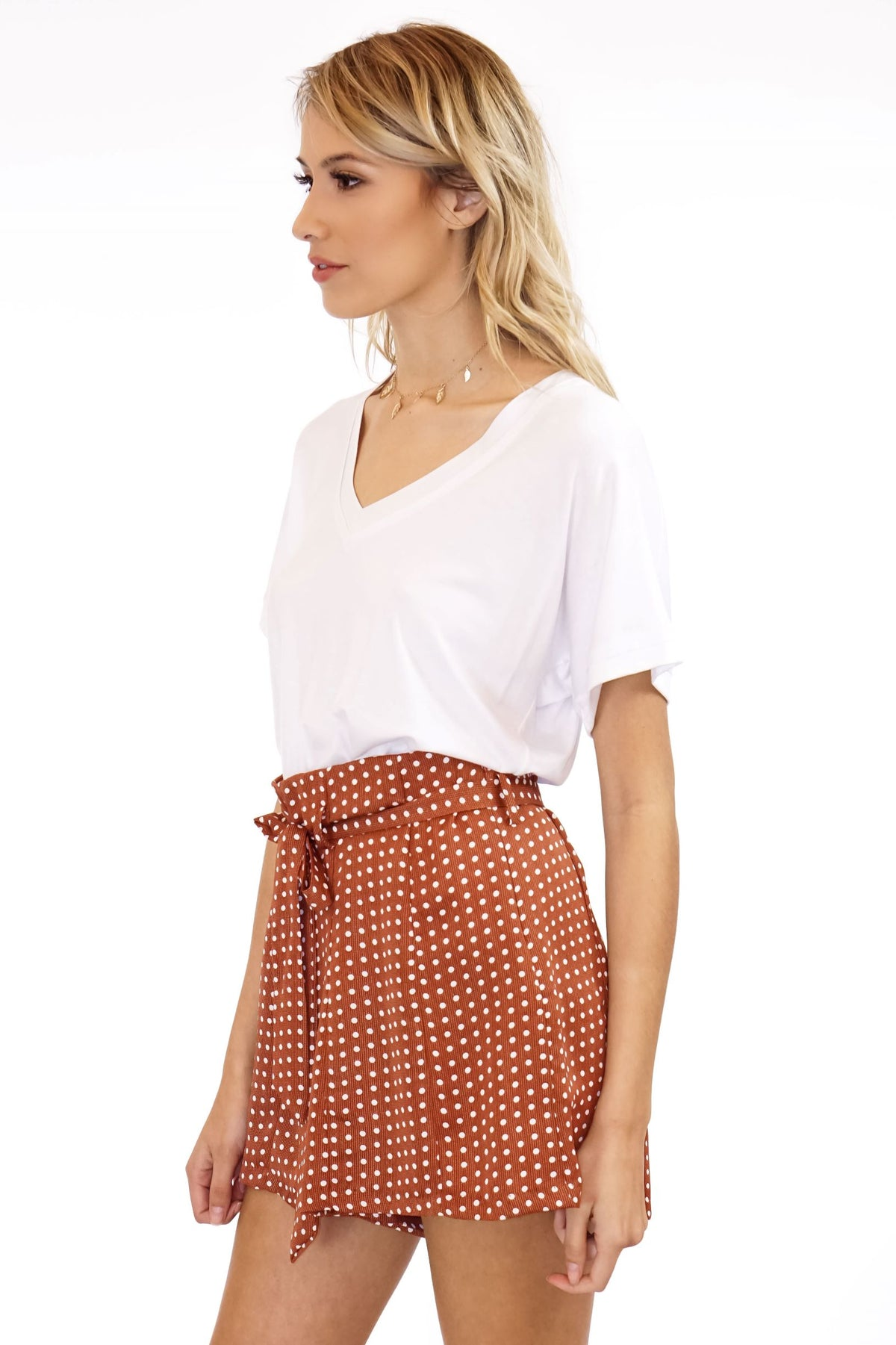 Balthazar Shorts with Belt