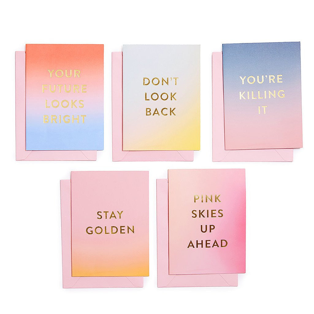 Good Vibes Greeting Cards