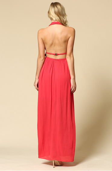 Double Braid Maxi Dress