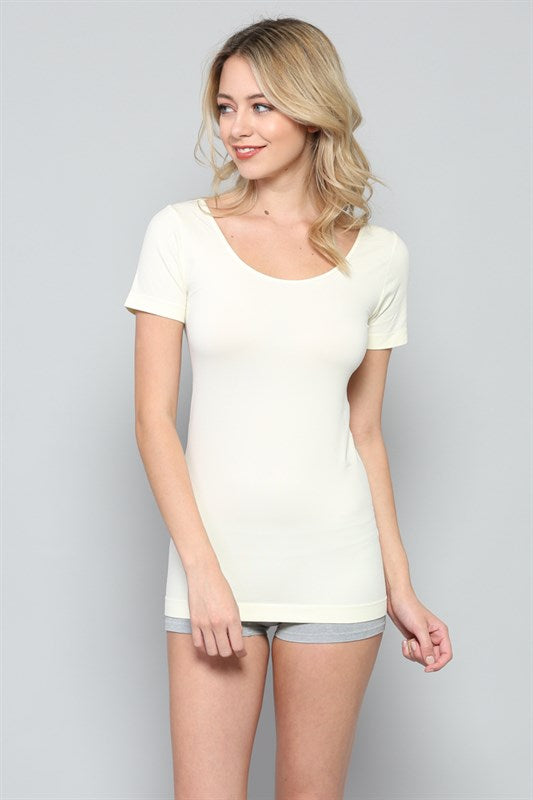 Seamless Short Sleeve Tunic