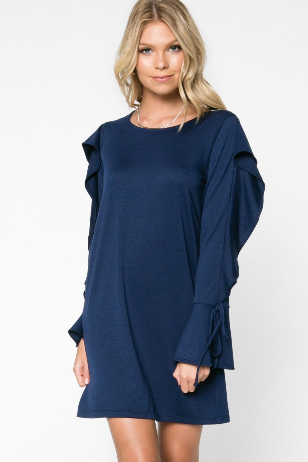 Everly Blue Falls Dress