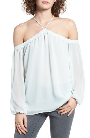 Liberty cold shoulder blouse