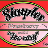 Strawberry Simples 60ml