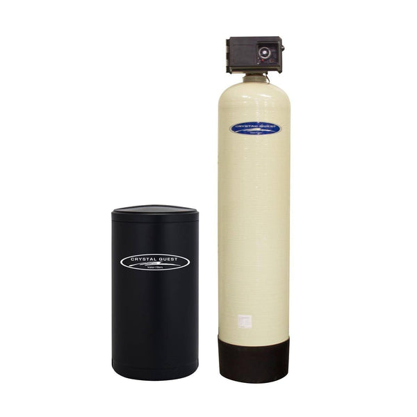 Crystal Quest Commercial/Industrial Single Water Softener System 120,000 Grains 20 GPM - PureWaterGuys.com