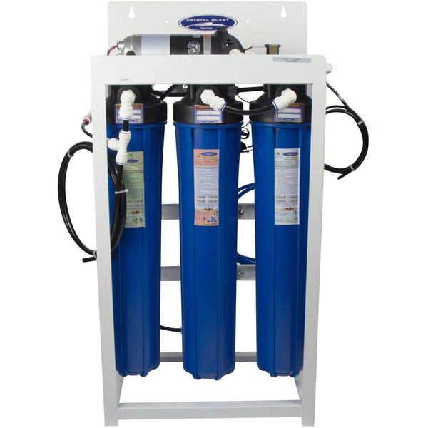 Crystal Quest Commercial R O Filtration System 200 Gallons Per Day - PureWaterGuys.com