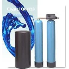 Crystal Quest Light Commercial Twin Water Softener System 45,000 Grains - PureWaterGuys.com